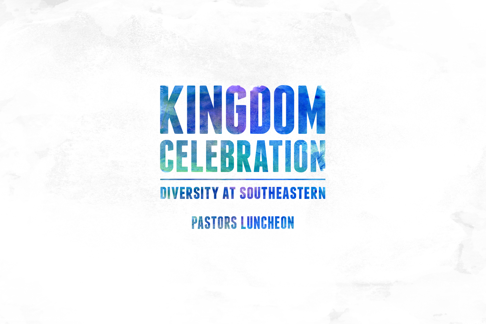 Kingdom Celebration – Pastors Luncheon