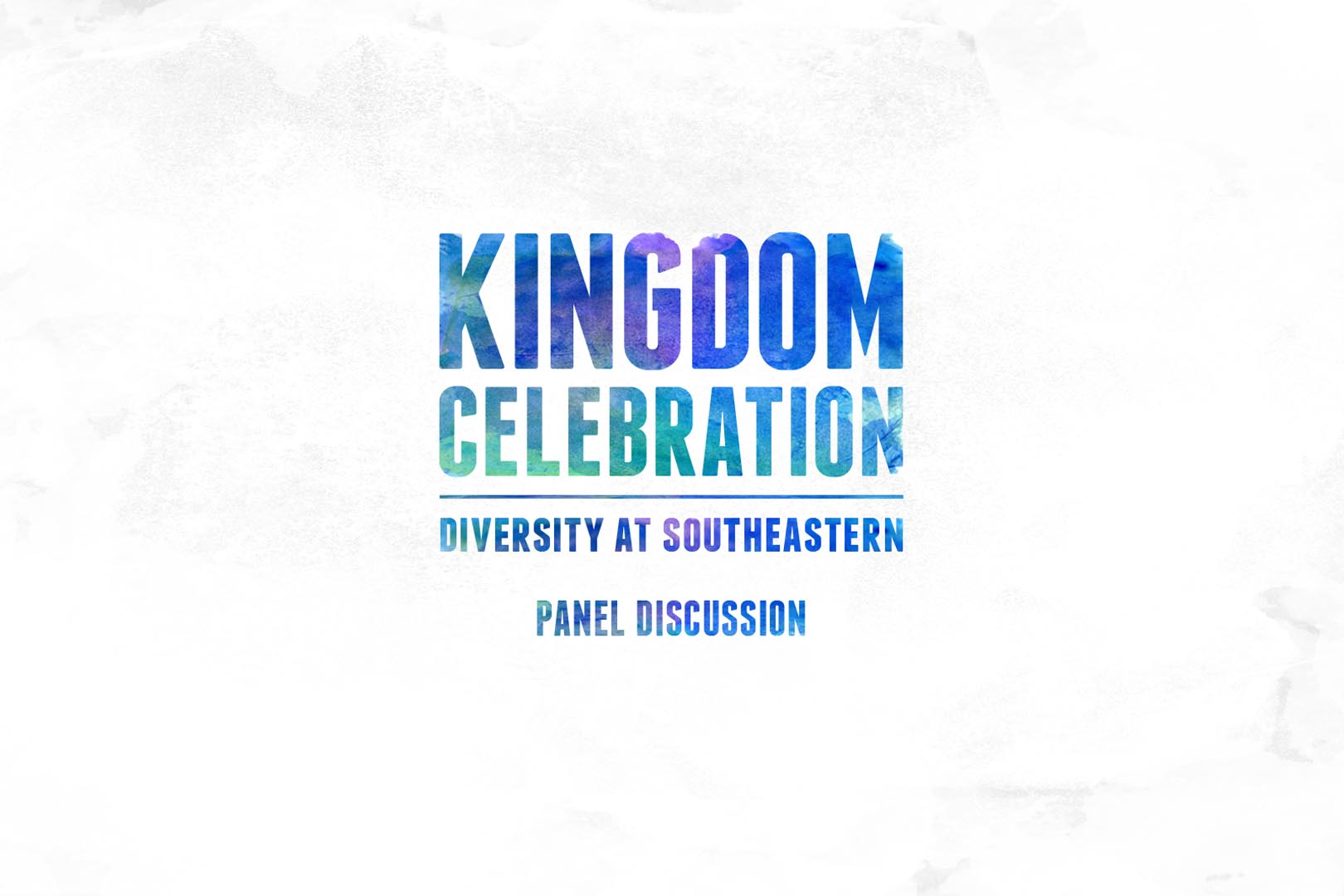 Kingdom Celebration – Panel Discussion on Diversity