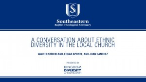 A Conversation about Ethnic Diversity in the Local Church