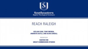 Reach Raleigh – Panel Discussion