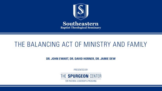 The Balancing Act of Ministry and Family