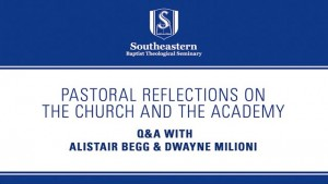 Pastoral Reflections on the Church and the Academy
