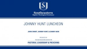 Johnny Hunt Luncheon
