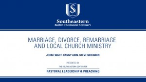 Marriage Divorce, Remarriage and Local Church Ministry