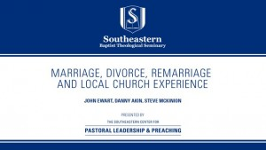 Marriage Divorce, Remarriage and Local Church Experience