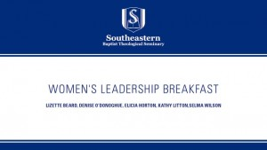 Women's Leadership Breakfast at the 2015 SBC