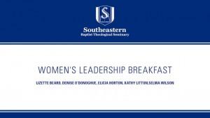 Women's Leadership Breakfast at the 2015 SBC