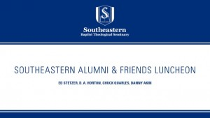 Southeastern Alumni & Friends Luncheon 2015