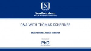 Q & A with Thomas Schreiner