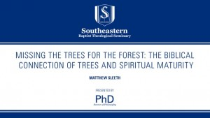 Missing the Trees for the Forest: The Biblical Connection of Trees and Spiritual Maturity