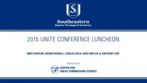 2015 Unite Conference Luncheon