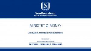 Ministry & Money
