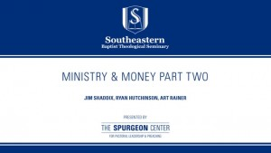 Authenticity Series: Faith & Money Part Two