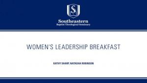 Women's Leadership Breakfast – SBC 2016