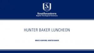 Hunter Baker Luncheon