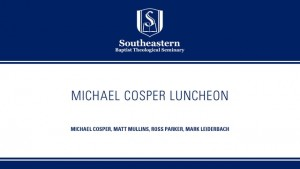 Michael Cosper Luncheon