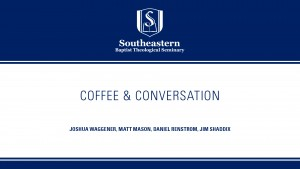 Coffee & Conversation: Matt Mason & Daniel Renstrom