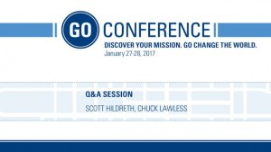 GO After Hours – Q&A: The Insanity of God – GO Conference 2017
