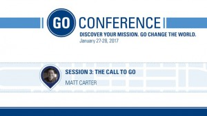 Matt Carter – The Call to Go – Go Conference 2017
