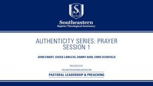 Authenticity Series: Prayer – Session 1