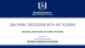 Q&A Panel Discussion with Art Azurdia