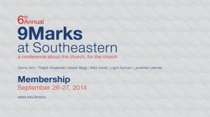 9Marks at Southeastern – Membership