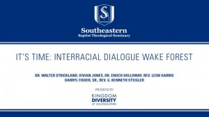 It's Time: Interracial Dialogue Wake Forest