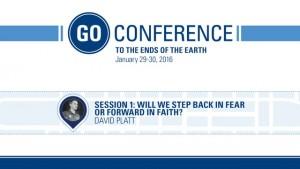 David Platt – Go Conference 2016 – Session 1