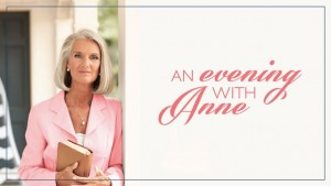 An Evening with Anne Graham Lotz – Lessons from Daniel's Prayers – Daniel 9