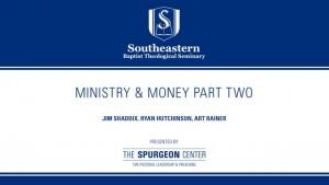 Authenticity Series: Faith & Money Part Two