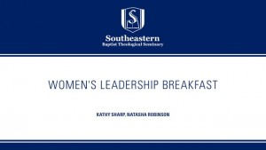 Women's Leadership Breakfast – SBC 2016