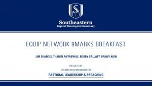 EQUIP Network 9Marks Breakfast 2016