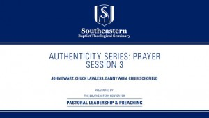 Authenticity Series: Prayer – Session 3