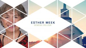 Esther Meek – Wisdom Forum 2018 – Longing for God