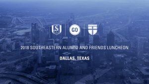 Danny Akin and J.D. Greear – Southeastern Alumni & Friends Luncheon 2018