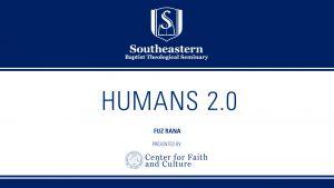 Fuz Rana – Humans 2.0