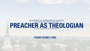 Plenary Session 3 – Panel